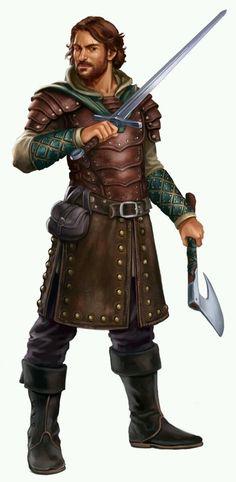 Ethanwey, guerreiro