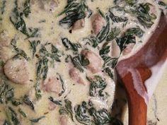 Tejszínes - spenótos afrikai harcsa | Benyovszky Edit receptje - Cookpad receptek Mashed Potatoes, Chicken, Meat, Ethnic Recipes, Food, Whipped Potatoes, Smash Potatoes, Essen, Meals