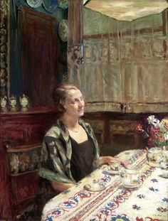 Edouard Vuillard (by BoFransson) Pierre Bonnard, Edouard Vuillard, Harlem Renaissance, Jean Leon, Beaux Arts Paris, Maurice Denis, Post Impressionism, Tea Art, French Art
