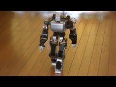 Mini humanoid robots are beginning to walk more like people