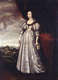 Reine Marie Louise Gonzaga de Nevers, reine de Pologne, 1650 Peeter Danckers de Rij