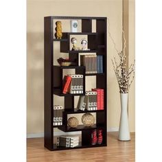 Who said bookshelves have to be boring? Check out the Enitial Lab Bradshaw Bookcase!