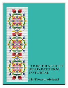 Bead Loom Vintage Motif 2 Antique MultiColor by MyTreasureIsland