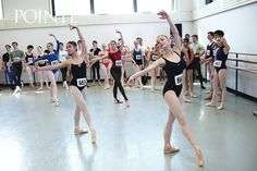 Behind the scenes at a Ballet West audition (photo by Jim Lafferty)
