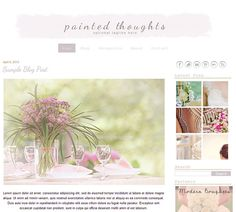 free premade blog templates for wordpress