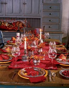 thankgiving decor | 26 Thanksgiving Table Decorations | DigsDigs