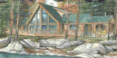 Cottage Plans & Custom Home Designs   Normerica Cottage & Custom Home Builders