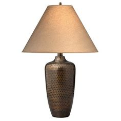 Brighton hammered pot bronze table lamp style x4785 southwest brighton hammered pot bronze table lamp style x4785 southwest style living rooms and lights aloadofball Images