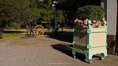 Pastel green and beige, French planters bac d'orangerie Jardinier du Roi. http://www.jardinierduroi.com