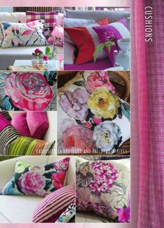 Cushions from Designers Guild.Designers Guild Fabrics and wallpapers can be purchased through www.janehalldesign.com