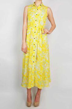 creatures of comfort   alex floral button front dress