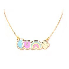 Lucky cunt necklace
