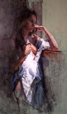 At the window by ~rpintor on deviantART