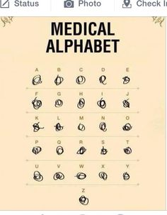 Medical humor...