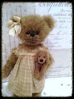 Becky and pepper by By Shaz Bears | Bear Pile