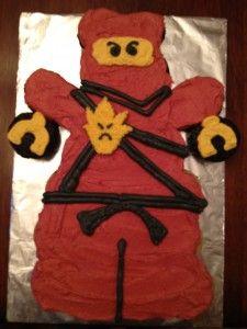 Ninjago Cupcake Cake
