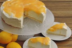 Lemoncurd niet-in-de-oven cheesecake