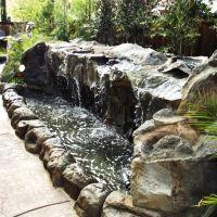 Water Feature #GoetzLandscape #waterfall