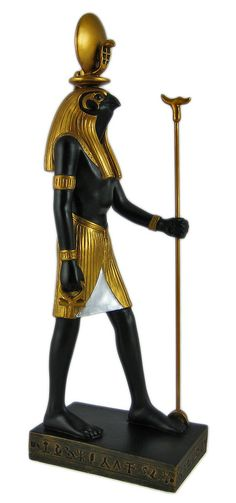 Ra, Egyptian Deities, god of the Sun, father of Bastet, Sekhmet and Hathor, rival of Ptah and Isis