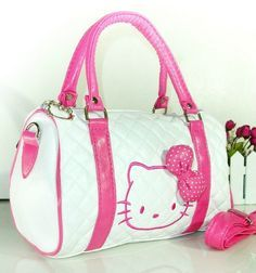 Hello Kitty Shoulder Bag Purse With Strap