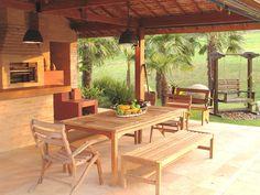 Jardim de fazenda tem fontes, bromélias e cantos para relaxar - UOL Estilo de vida