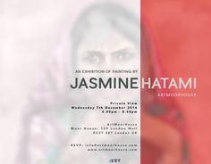 ARTMOORHOUSE, London - Jasmine Hatami - 7th December, 2016 > 7th January, 2017 http://mpefm.com/mpefm/modern-contemporary-art-press-release/united-kingdom-art-press-release/artmoorhouse-london-jasmine-hatami