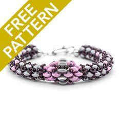 Chainon Bracelet Pattern for CzechMates | Fusion Beads