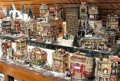Department 56 - Christmas in the City by Department 56, via Flickr by ora