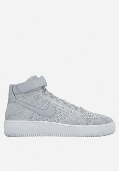 Inspired by the shoe that's been reigning the courts since 1982, the Men's Nike Air Force 1 Ultra Flyknit Mid Shoe brings back the AF1 in a lighter-than-ever construction. Rocking a Flyknit constructed upper for the first time, it serves up old-school hoops vibes with a featherweight feel you'll never want to take off. Nike Af1, Mens Nike Air, Nike Air Force, Lighter, Old School, Adidas Sneakers, Bring It On, Construction, Inspired