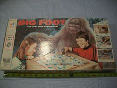 Vintage 1977 MB Big Foot The Giant Snow Monster Board Game 100 Complete RARE - Can't Resist Vintage
