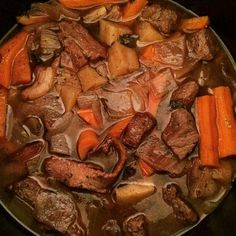 Rich Beef Stew in a Red Wine Sauce adapted for AIP- Instant Pot recipe