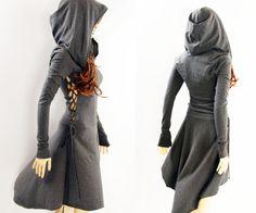 Feest jurk /Hoodies / High Low jurk / High Low door MIRIMIRIFASHION