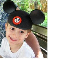 "When @Laurie Steiner travels to Orlando, she's thankful for times with her grandson! She says, ""he's still happy after a long morning.""  #UndercoverTouristPinterestGiveaway"