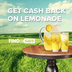 Happy ‪#‎NationalLemonadeDay‬! Get cash back on lemonade from the Find&Save app!