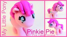 See how to make a Pinkie Pie Cake topper to go on top of your My Little Pony cake for your kids next Birthday party cake! Create this cute Pinkie Pie figurin...