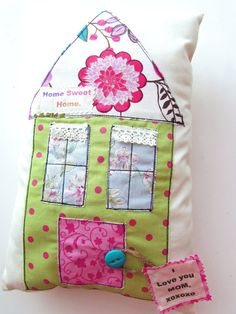 Mother's Day Pillow Mom Pillow Word Pillow I love by Itsewbella, $24.00