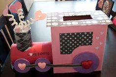 29 Adorable Diy Valentine Box Ideas Pretty My Party Party Ideas Shoe Box Decoration Ideas Fo. Unique Valentine Box Ideas, Valentine Boxes For School, Kinder Valentines, Valentines Day Party, Valentine Day Crafts, Printable Valentine, Homemade Valentines, Valentine Wreath, Valentine Decorations