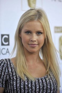 claire holt -another example of make up for pale with freckles