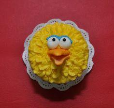 Laily's Pâtisserie: Sesame Street cupcakes!