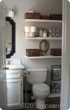 Small bathroom ideas by Sacagawea