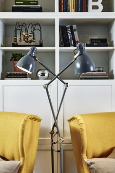 The right lighting is key to a comfortable living room. The IKEA ARÖD floor/reading lamp has an adjustable arm and head so you can direct light exactly where you want it.