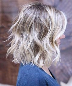 Top and Trendy Blonde Shoulder Length Hairstyles for Women