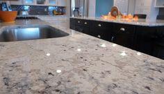 Granite countertops and sollid ® cabinetry accent interiors slc, ut kitchen Faux Granite, Granite Kitchen, New Kitchen, Kitchen Ideas, Tile Floor Diy, Floor Grout, Custom Countertops, Marble Countertops, Modern Framed Mirrors