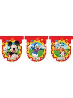 Mickey Mouse Bayrak Set 3 metre