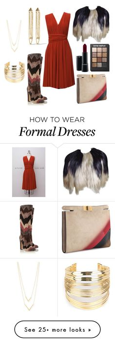 """""""Playing with Fur"""" by keischa-pruden on Polyvore featuring Jimmy Choo, Anna Sui, Fendi, Kevia, Jennifer Zeuner, MAC Cosmetics, Sonia Kashuk and WithChic"""