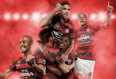 Western Sydney Wanderers Nike Home and Away Kits Football Fashion, Sport Icon, Black Pride, Team S, Home And Away, Wander, Westerns, Sydney, Soccer