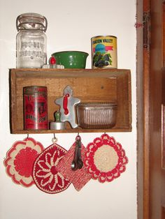 vintage potholders