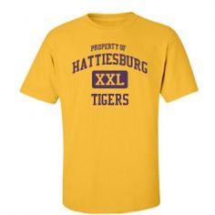 Hattiesburg Junior High School - Hattiesburg, MS | Men's T-Shirts Start at $21.97