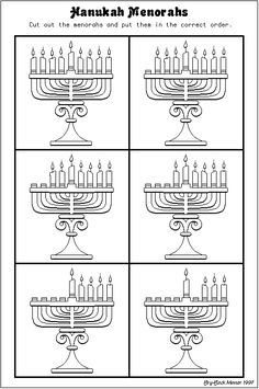 Menorahs For Hanukah Hanukkah Menorah, Christmas Hanukkah, Hannukah, Happy Hanukkah, Christmas Holidays, Hanukkah Traditions, Jewish Celebrations, Kwanzaa, Family Traditions