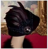 Gorgeous wool/feather hat!